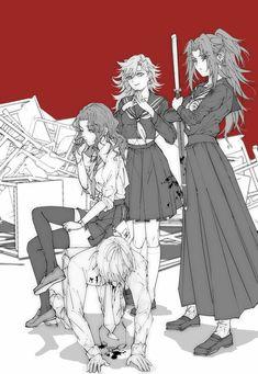 Manga Anime, Fanarts Anime, Anime Characters, Anime Art, Slayer Meme, Demon Slayer, Anime Angel, Anime Demon, Blue Diamond Su
