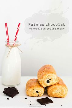 Can't boil an egg: Pain au chocolat Chocolate Croissant, Croissants, Boiled Eggs, Sweet Tooth, Favorite Recipes, Place Card Holders, Canning, Breakfast, Tooth Fairy