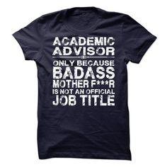 Academic Advisor T Shirts, Hoodies Sweatshirts