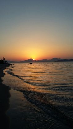 Kos, Tigaki Beach Sunset in June
