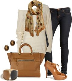 """""""Caramel Comfort"""" by luckaty on Polyvore"""