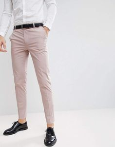 Mens Casual Dress Outfits, Formal Men Outfit, Stylish Mens Outfits, Casual Shirts, Costume Slim, Mode Costume, Mens Dress Trousers, Suit Pants, Pant Shirt