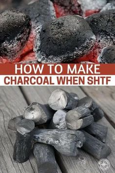How To Make Charcoal When SHTF - The article also lists many of the great uses for charcoal outside of cooking food, though that is one important thing. We don't often think about charcoal as a heating element but it does that well too. This is a short ar Homestead Survival, Survival Food, Wilderness Survival, Outdoor Survival, Survival Prepping, Emergency Preparedness, Survival Skills, Survival Quotes, Survival Hacks