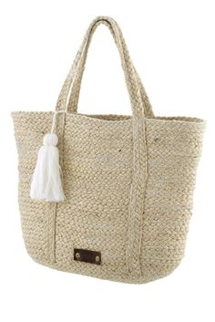 Beach Bags, Burlap, Ss, Reusable Tote Bags, Swimwear, Fashion, Bathing Suits, Moda, Swimsuits