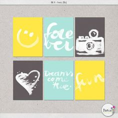 Free Fill It Two Filler Cards from Dúnia Designs {on Facebook}