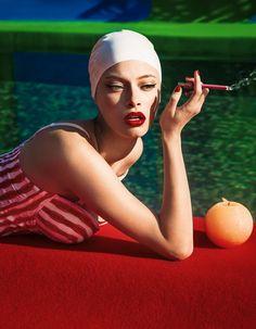 Vintage and Colorful Swimming Pool Series - Fubiz Media