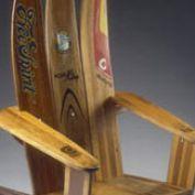 repurposed upcycled repurped ski chair