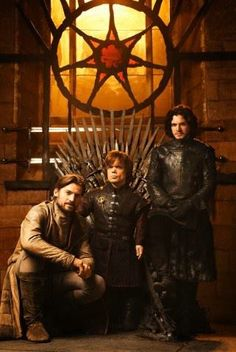 Jamie & Tyrion Lannister and Jon Snow