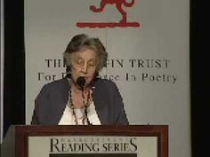 """Canadian poet P.K. Page reads the poem """"Planet Earth"""" from the collection Planet Earth, shortlisted for the 2003 Griffin Poetry Prize."""