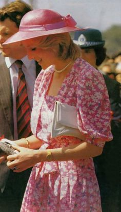 March 28, 1983: Princess Diana in Sydney during the Royal Tour of Australia.