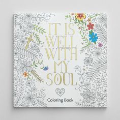 it is well with my soul inspirational coloring book - Coloring Book Paper Stock