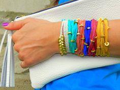 diy silk bracelets