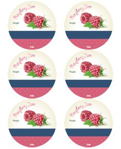 These are reallycute canning jar labels designed by Ira Pavlovich. Use on your cans, jars and other containers you are using for your homemade jams (fruit preservatives): Cherry, Blueberry, Strawb…