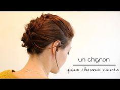 Tuto : un chignon désordonné - RED BEAUTY   Blog beauté, mode, lifestyle