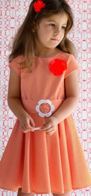 Inspiration dress (no pattern or tut) Little Dresses, Girls Dresses, Summer Dresses, Sewing For Kids, Baby Sewing, Well Dressed Kids, Kids Outfits, Cute Outfits, My Little Girl