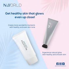 Get healthy skin that glows even up close with these 2 perfect pair, NIGHTEN Cloud Cream and NEW Face Cream Natural Glow, Natural Skin, Get Healthy, Healthy Skin, Korean Products, Asian Skincare, Younger Skin, Skin Elasticity, Even Skin Tone