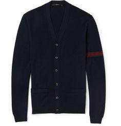 grailshit:    Gucci - Fine-Knit Wool Cardigan