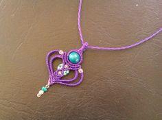collar-macrame-dije-corazon-889701-MLA20410785071_092015-F.jpg (1200×894)