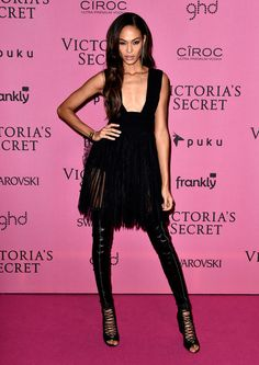 Joan Smalls Photos: Arrivals at the Victoria's Secret Fashion Show Afterparty