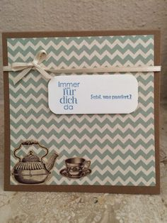 Immer für Dich da Stampin Up, Place Cards, Place Card Holders, Main Hoon Na, Stamping Up