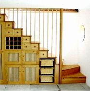 cabinets under stair storage - Google Search