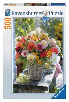 Ravensburger - Beautiful Flowers Jigsaw Puzzle - 500 pc