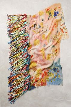 Fringed Octavia Scarf - anthropologie.com