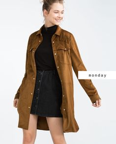 No Monday blues here thanks to Zara and their fall fashions! Shop the look at Galleria Dallas | Fall Fashion | Suede | Head to toe | Zara | Galleria Dallas