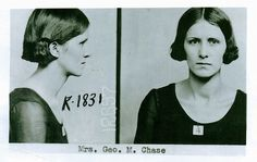 Vivian's mug shot for the N KCMO bank robbery