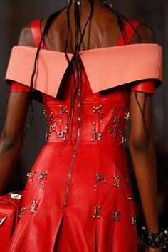 Alexander McQueen | Dress | Spring/Summer 2018 | British | Ready-to-Wear | Details