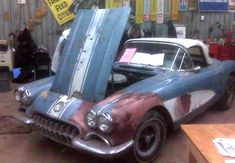 1958 Corvette Barn Car