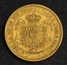 Italy Parma 40 Lire Gold Coin