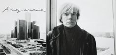 In November Andy Warhol traveled from New York to Detroit promoting his new publication America with a scheduled stop at the DIA for a special book signing. Warhol took time for an interview wit Pop Art Andy Warhol, Jean Michel Basquiat, Street Culture, Madison Avenue, Arte Pop, France, Cultura Pop, Big Fashion, New York