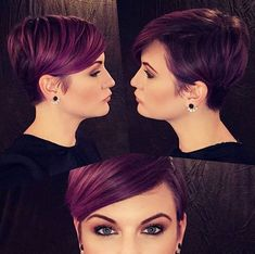 Top 10 Most Flattering Pixie Haircuts for Women, Short Hair Styles 2019 Best Stylish Pixie Hair Cut Ideas for Women , Short Hairdo 2018 – 2019 – Farbige Haare Short Pixie Haircuts, Pixie Hairstyles, Short Hairstyles For Women, Trendy Hairstyles, Short Hair Cuts, Short Hair Styles, Pixie Cuts, Hairstyles Videos, Winter Hairstyles