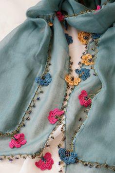 画像1: トゥーオヤの花花ストール