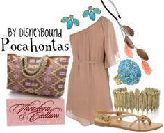 Pocahontas 2  by Disneybound