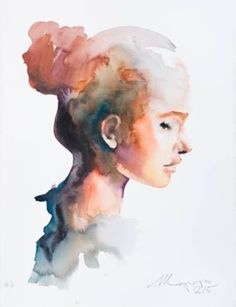 "Saatchi Art Artist Andrei Sharov; Painting, ""series ""profile"" 2"" #art"