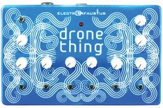 Get yourself the Electro Faustus EF109 Drone Thing from the UK's Largest Guitar Store.  Buy today and get this Electro Faustus with Free Delivery.