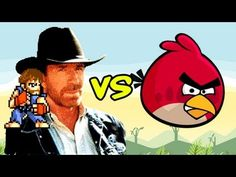 Chuck Norris vs Angry Birds.....omg....how ridiculously funny/stupid...lol!