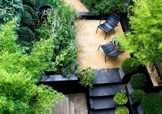Landscaping: 10 Classic Layouts for Townhouse Gardens: Gardenista