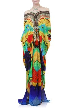 661045717d Long Kaftans | Luxury Silk Kaftans - Shahida Parides - Shahida Parides® Kaftan  Designs,