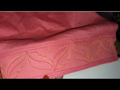 Pihoo tv Hello friends Today in this video i am showing you how to cut and stitch beautiful salwar mohri design or salwar ke ponche ka design in eas. Salwar Neck Designs, Dress Neck Designs, Sleeve Designs, Blouse Designs, Embroidery On Kurtis, Kurti Embroidery Design, Kurti Sleeves Design, Sleeves Designs For Dresses, Poncho Design