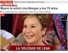 WEBSEGUR.com: FALLECE LINA MORGAN, D.E.P.