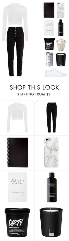 """""""don't play - halsey"""" by chanelnseven ❤ liked on Polyvore featuring WearAll, Balenciaga, Recover, Pantone and Common Projects"""