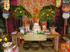 Decoração de festa havaiana: ideias, dicas, fotos - Casa