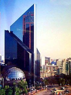 Edificio de la Bolsa Mexicana de Valores.