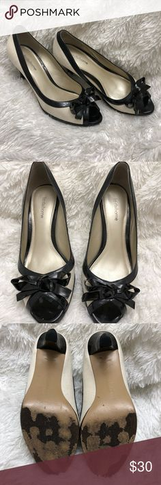 Classy Heels Very comfortable and good support! These are Heels you could definitely stand in all day. Liz Claiborne Shoes Heels