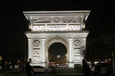 Porta Macedonia, a triumphal arch dedicated to 20 years of Macedonian independence. The roof of the arch was built to host wedding ceremonies.