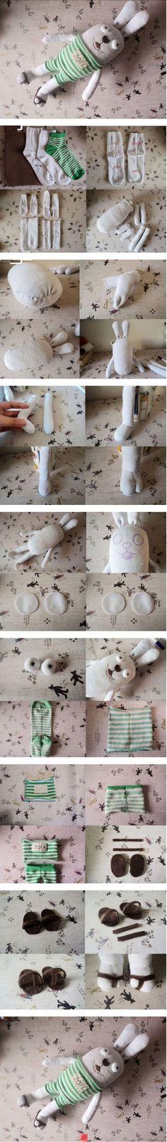 DIY Custom Bunny Plush DIY Projects