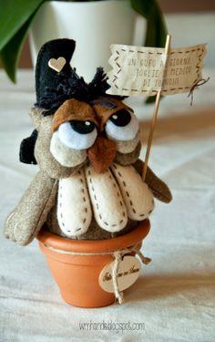 owl - cartamodello Il Risveglio dell' Antico   ♥